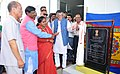 The Minister of State for Textiles (Independent Charge), Shri Santosh Kumar Gangwar inaugurating the Apparel and Garment Making Centre, at the Industrial Growth Centre, in Aizawl, Mizoram.jpg
