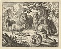The Monkey Opens the Package and Removes the Rabbit's Head to the Great Surprise of the Animals from Hendrick van Alcmar's Renard The Fox MET DP837725.jpg