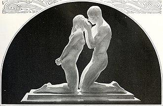 Widener Gold Medal - Image: The Offering, Malvina Hoffman circa 1920, sculpture (14784628252)