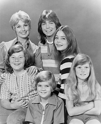 Suzanne Crough - Crough (bottom right) at age 9. She is seen here with fellow cast members of The Partridge Family in 1972