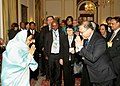 The President, Smt. Pratibha Devisingh Patil met the delegates to the 8th International Conference of Chief Justices of the World at Rashtrapati Bhavan, in New Delhi on December 06, 2007.jpg