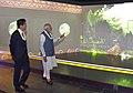 The Prime Minister, Shri Narendra Modi and the Prime Minister of Japan, Mr. Shinzo Abe visit Dandi Kutir, in Gandhinagar, Gujarat on September 14, 2017 (2).jpg