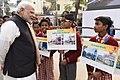 The Prime Minister, Shri Narendra Modi interacting with the students at Kabir Nagar, in Varanasi, Uttar Pradesh on December 22, 2016 (2).jpg