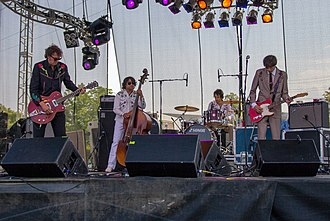 The Sadies - The Sadies performing at Burlington's Sound of Music Festival Festival in 2011