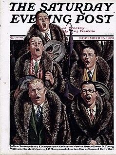 1920s fad among U.S. male college students
