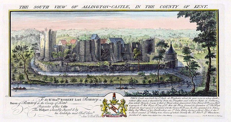File:The South View of Allington Castle, in the County of Kent.jpg
