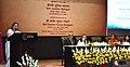 The Speaker, Lok Sabha, Smt. Sumitra Mahajan addressing at the celebration of 65th Foundation Day of Employees' Provident Fund Organisation (EPFO), in New Delhi.jpg