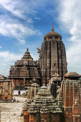 Odisha - Lingaraja Temple built by the Somavanshi king Jajati Keshari