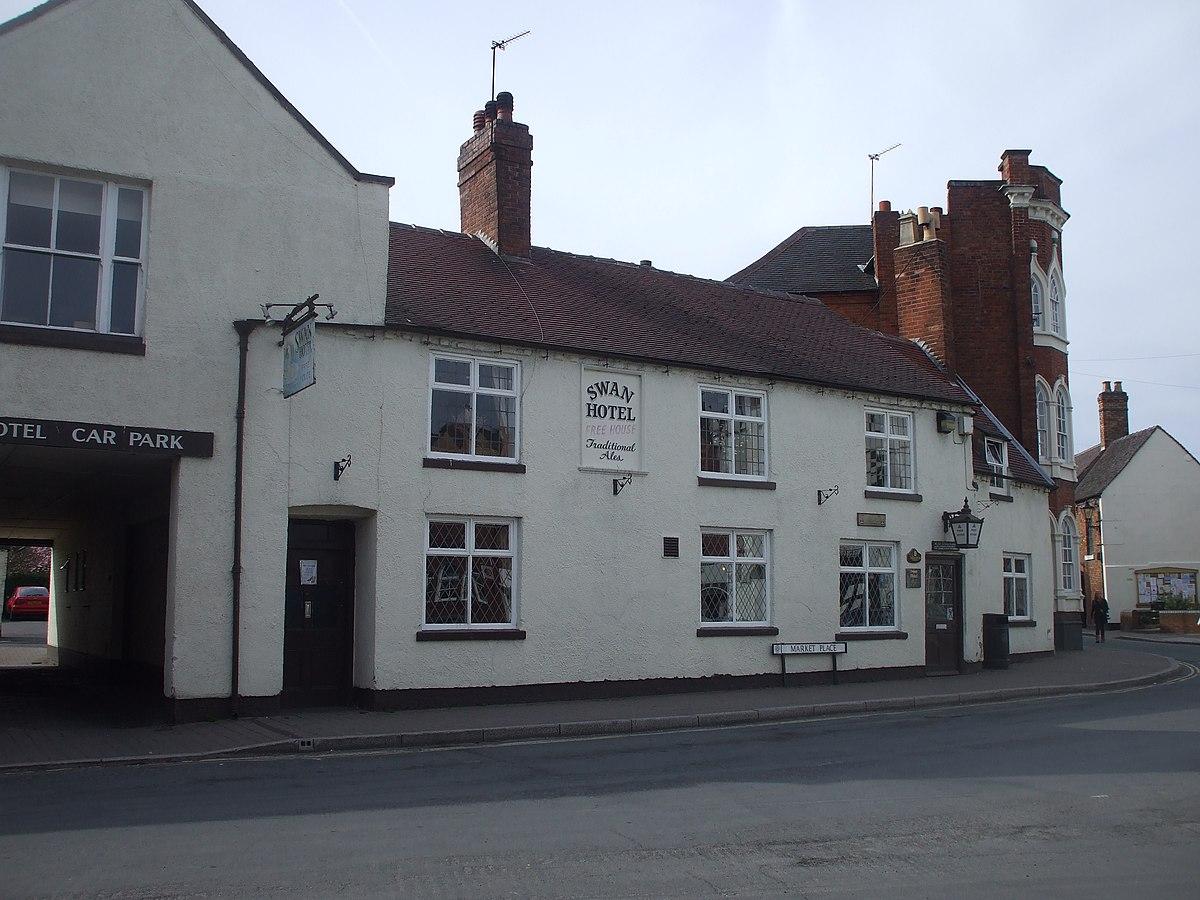 The Swan Hotel, Brewood - geograph.org.uk - 1805226.jpg