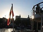 The Tall Ships Races 2007 - Flaga w promieniach słońca (1005935235).jpg