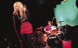 Optreden van The Ting Tings in 2008