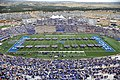 The U.S. Air Force Academy (USAFA) cadet wing opens the 2012 football season during pre-game ceremonies as the USAFA Falcons compete against the Idaho State Bengals at Falcon Stadium in Colorado Springs, Colo 120901-F-WR679-626.jpg