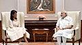 The US Ambassador to the United Nations, Ms. Nikki Haley calls on the Prime Minister, Shri Narendra Modi, in New Delhi on June 27, 2018 (1).JPG