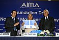 The Union Minister for Railways, Shri Lalu Prasad releasing a souvenir at the Foundation Day of All India Management Association (AIMA) and the presentation of awards instituted by AIMA, in New Delhi on February 21, 2009.jpg