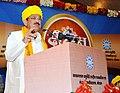 The Vice President, Shri M. Venkaiah Naidu addressing the 3rd Convocation of Makhanlal Chaturvedi Rashtriya Patrakarita Avam Sanchar Vishwavidyalay, in Bhopal, Madhya Pradesh on May 16, 2018.JPG