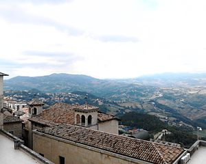 Panoramic view from Murata