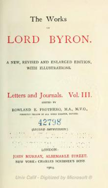 The Works of Lord Byron (ed. Coleridge, Prothero) - Volume 10.djvu