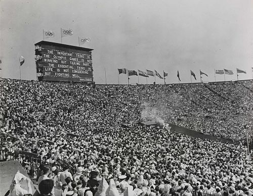 The XIV Olympic Games opens in London, 1948 The XIV Olympic Games opens in London, 1948.jpg