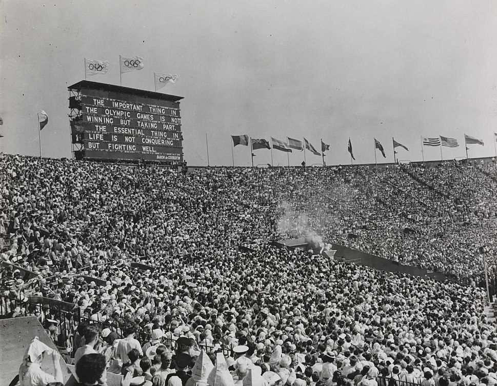 The XIV Olympic Games opens in London, 1948