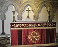 The altar within St Mary's, Funtington - geograph.org.uk - 1045726.jpg