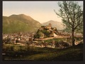 The city and the castle, Lourdes, Pyrenees, France-LCCN2001698644.tif