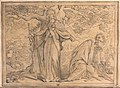 The dance of death; Liberty and Death. Drawing. Wellcome V0042041.jpg
