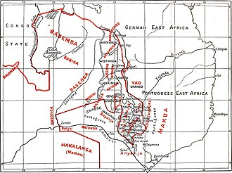 History of Malawi - Malawian ethnic groups at the end of the 19th century