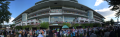 The rear of the grandstand at Arlington International Racecourse, Chicago, Illinois.png