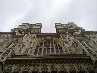 Dean of Westminster - The west façade of the Abbey