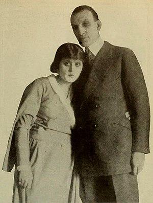 Theda Bara - Bara with Charles Brabin (1922)