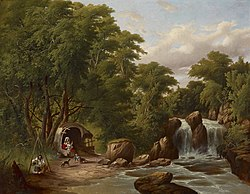 Thomas B. Glessing: Landscape with Figures