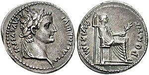Tiberius, Denar, Lyon, CNG.jpg