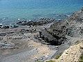 Tidal rocks at Clarach Bay - geograph.org.uk - 845400.jpg