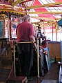 Tidman centre engine, 3-abreast gallopers, Hollycombe, Liphook 3.8.2004 P8030023 (10354288333).jpg