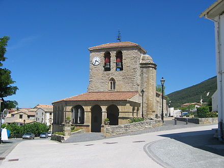 Church of Santa Eufemia in Tiebas Tiebas - Santa Eufemia Outside.jpg