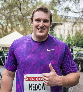 Tim Nedow Canadian throws athlete