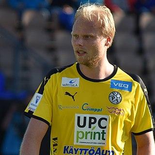 Timi Lahti Finnish footballer