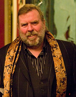 English: Timothy Spall at a Hudson Union Socie...