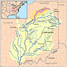 Tippecanoe River Wikipedia - Rivers in the us map