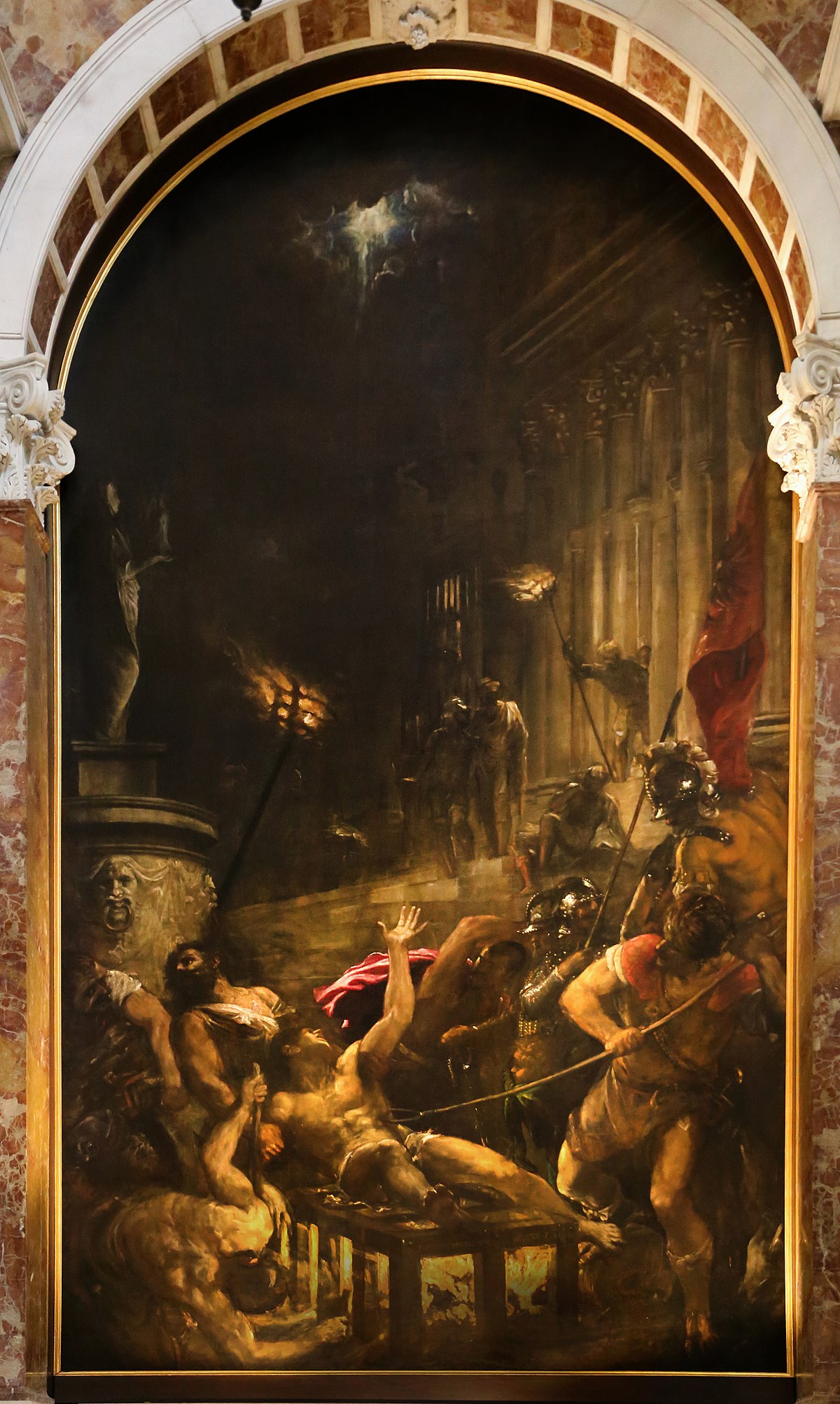 The Martyrdom Of Saint Lawrence Titian Wikipedia