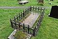 Tomb of Howell Harris In Churchyard of The Church of St Gwendoling, Church Street (N Side), Talgarth.jpg