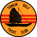 Tonkin Gulf Yacht Club emblem (United States Navy), in 1968.png