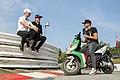 Topi Heikkinen (FIN), Reinis Nitišs (LV), Timo Scheider (D) (36683676894).jpg
