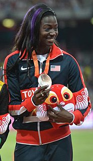 Tori Bowie American sprinter and long jumper