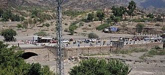 Torkham - Torkham border crossing in September 2011