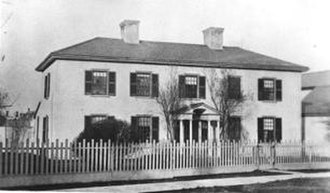 Kensington Market - 'Bellevue' original Denison Estate, Denison Square (1885) - now site of Kiever Synagogue