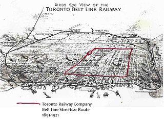 Toronto Railway Company Belt Line