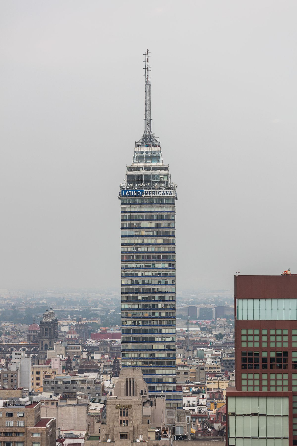 Torre latinoamericana wikipedia for Piso 9 torre latino