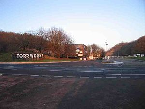 Foster Yeoman - The entrance to Torr Works Quarry
