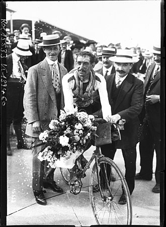1911 Tour de France - Paul Duboc finished second overall.